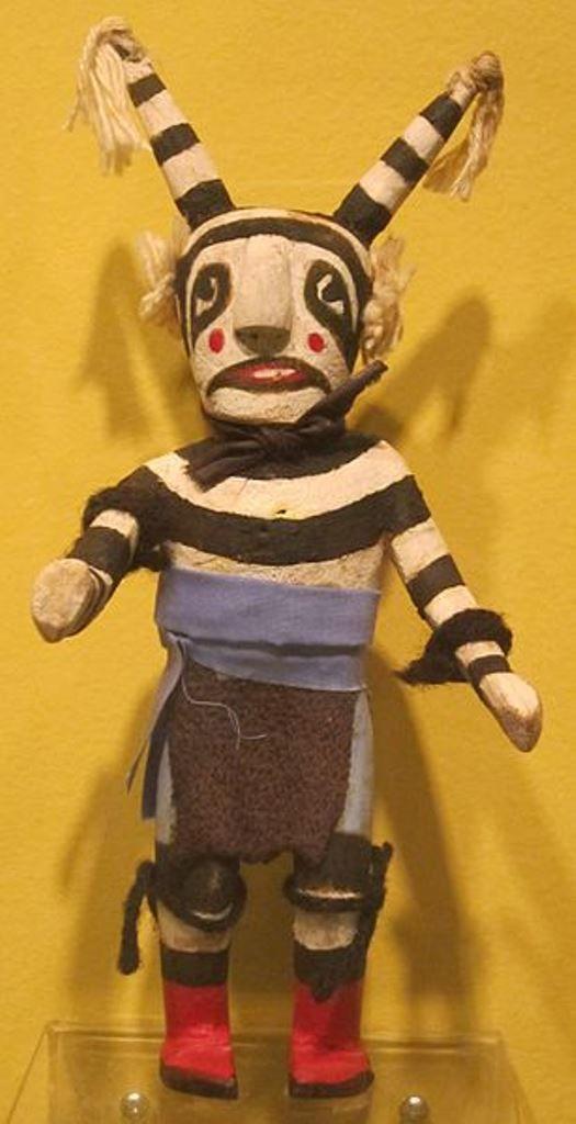 Hopi/Tewa clown katsina