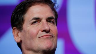 Businessman Mark Cuban listens as he is introduced at the South by Southwest (SXSW) Music Film Interactive Festival 2017 in Austin, Texas, U.S., March 12, 2017.   REUTERS/Brian Snyder