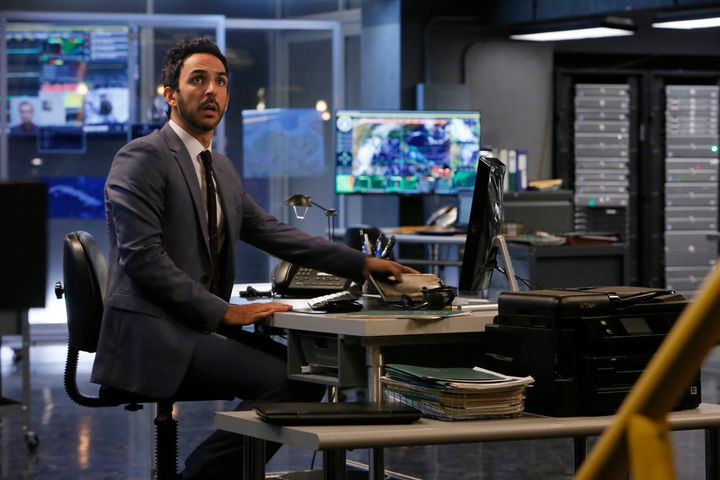 Amir Arison on NBC's The Blacklist.