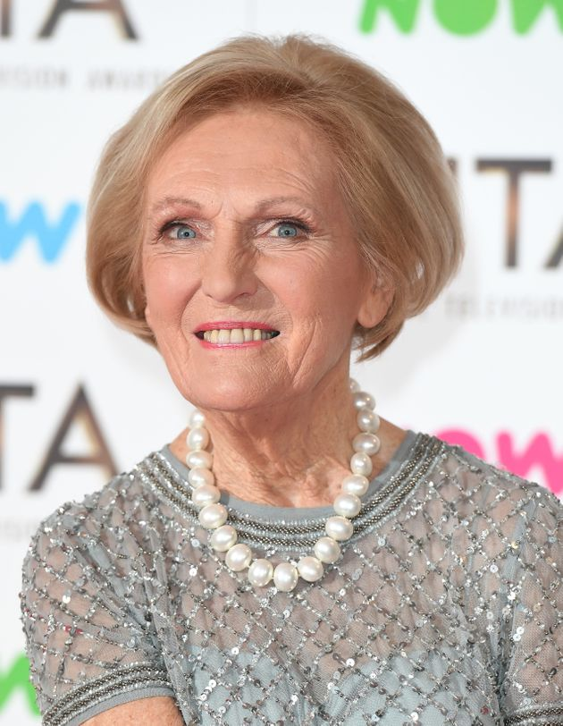 Mary Berry is staying with the