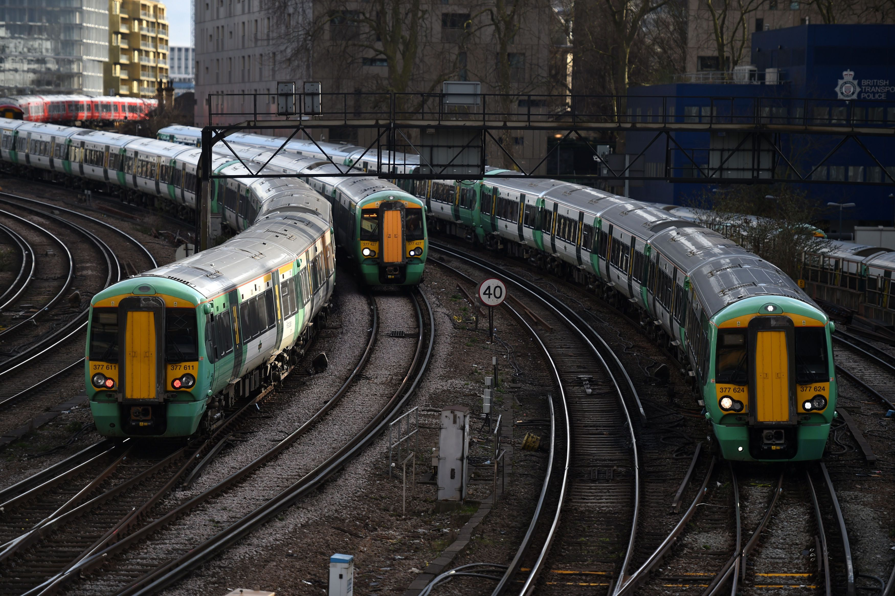 Deserted Stations As 2,000 Rail Workers Walk Out In Staffing Dispute
