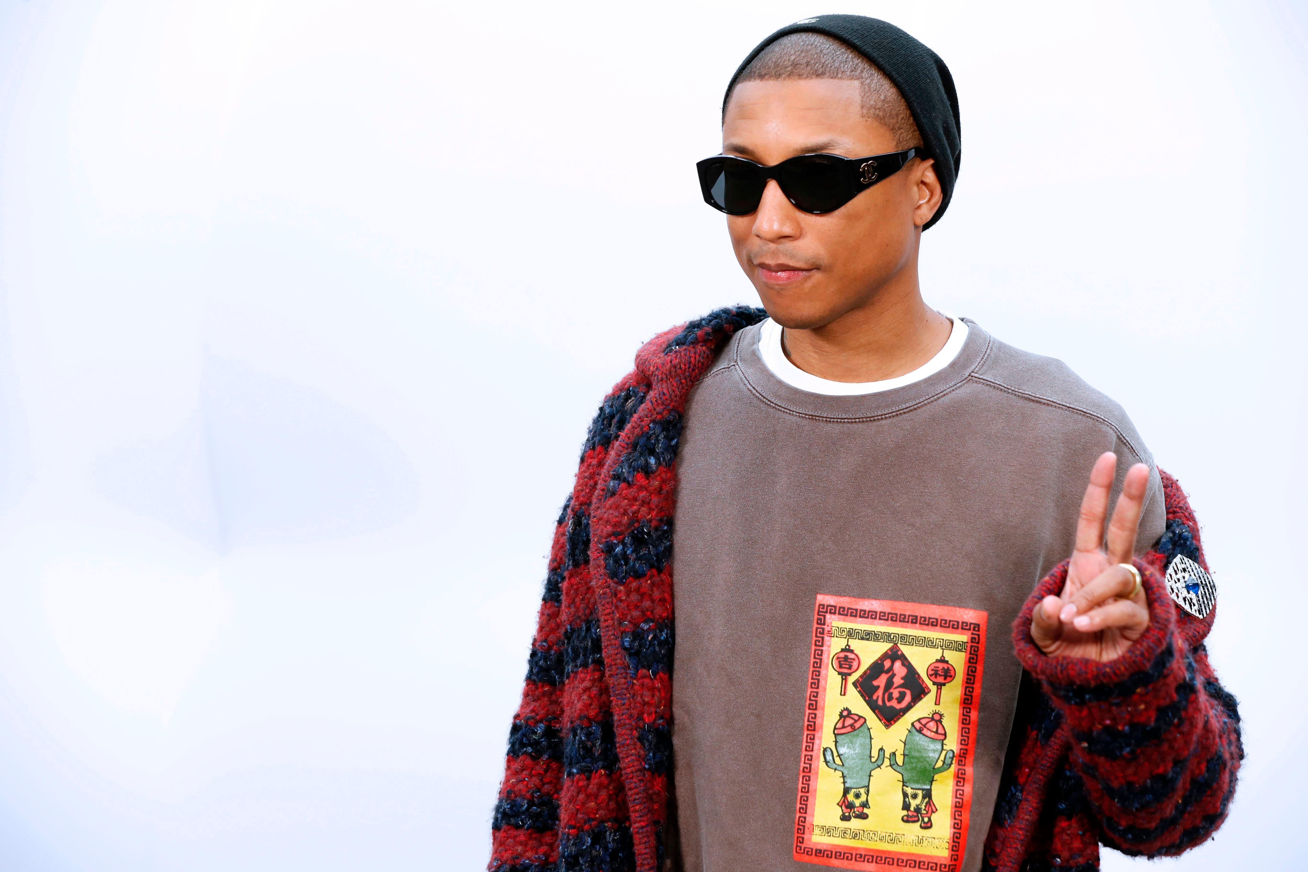 Pharrell Williams Becomes The First Man To Appear In A Chanel Handbag