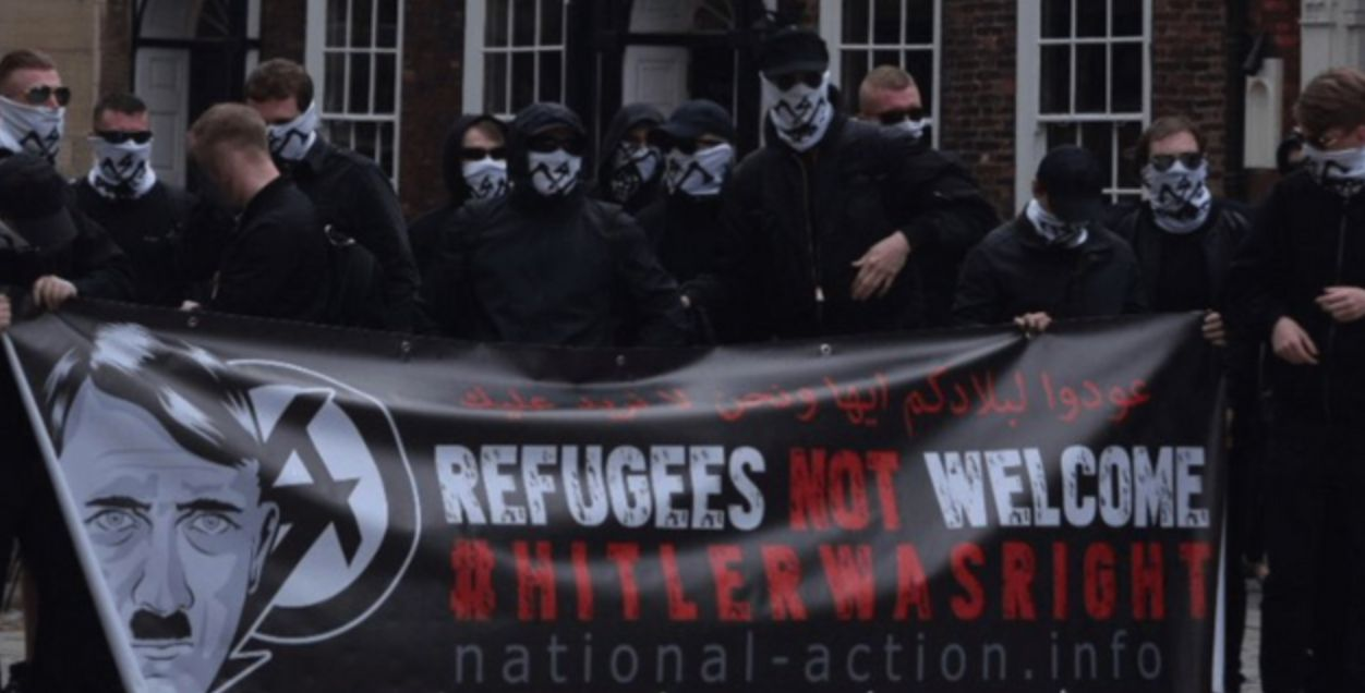 Hope not Hate claim banned terrorist group National Action is about to relaunch itself under a different