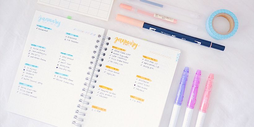 top 7 planners for students who want organization and style huffpost