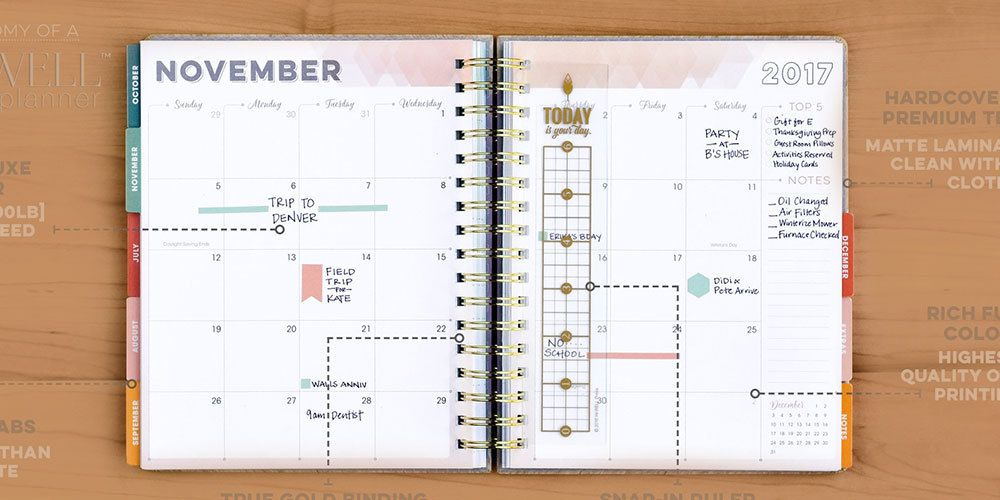 planners for college student