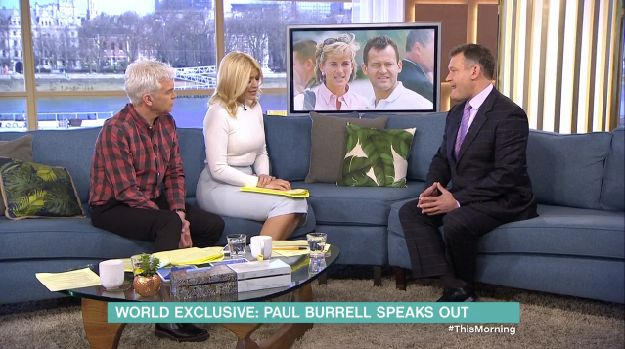 Paul Burrell appeared on 'This Morning' on