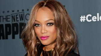 UNIVERSAL CITY, CA - DECEMBER 09:  Tyra Banks attends the Q&A for NBC's 'The New Celebrity Apprentice' at NBC Universal Lot on December 9, 2016 in Universal City, California.  (Photo by Tibrina Hobson/Getty Images)