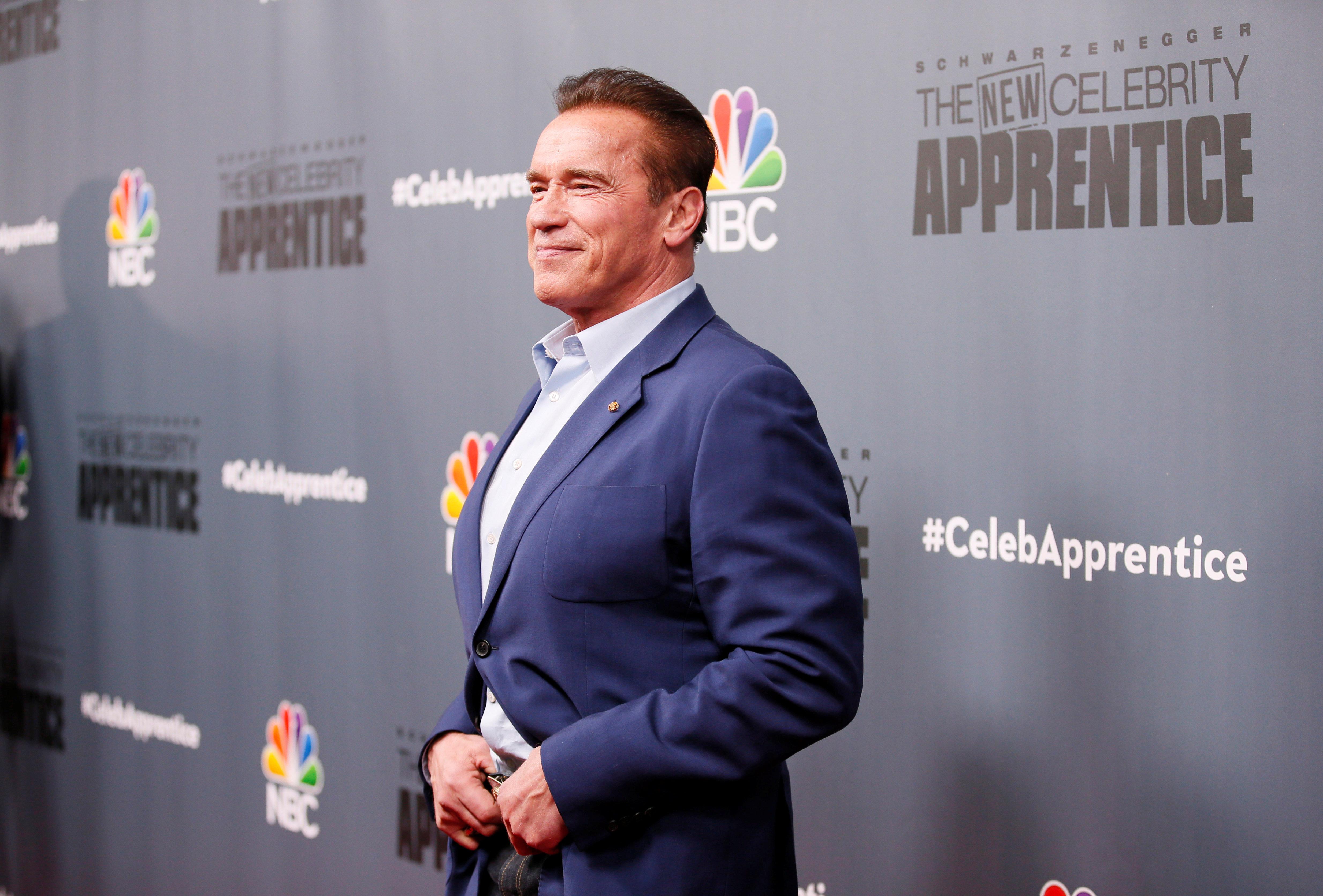 Arnold Schwarzenegger said he doesn't plan to run for U.S. Senate.