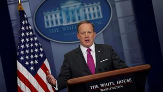 White House Press Secretary Sean Spicer holds the daily press briefing at the White House in Washington, U.S. March 9, 2017. REUTERS/Jonathan Ernst