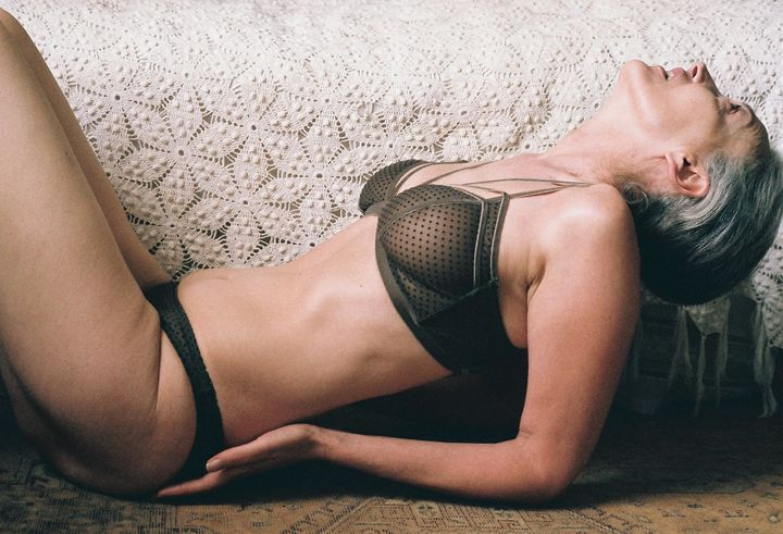 this 56-year-old lingerie model proves 'older women can kick ass