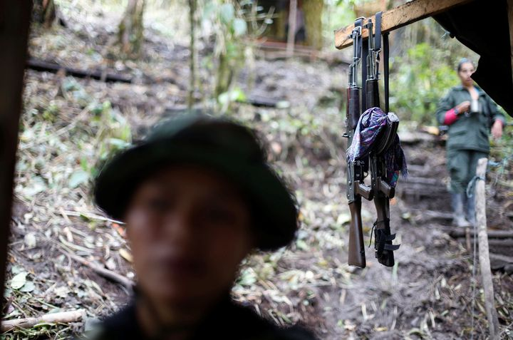 The FARC, now undergoing the tricky process of disarmament, was still armed and active just a few months ago.