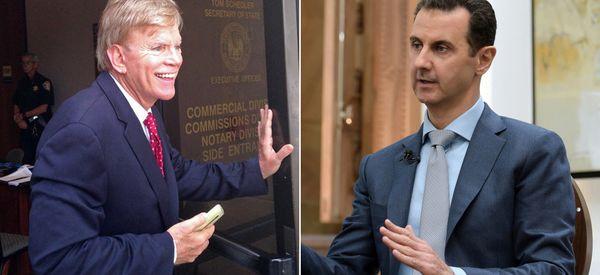 David Duke Heaps Praise On Syrian Dictator In Bizarre Series Of Tweets