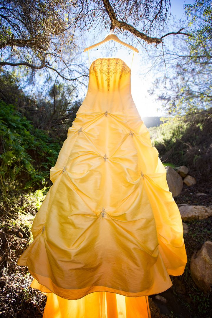 Prepare To Be Enchanted By This Beauty And The Beast Wedding Shoot