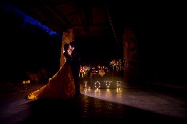 Prepare To Be Enchanted By This 'Beauty and the Beast' Wedding
