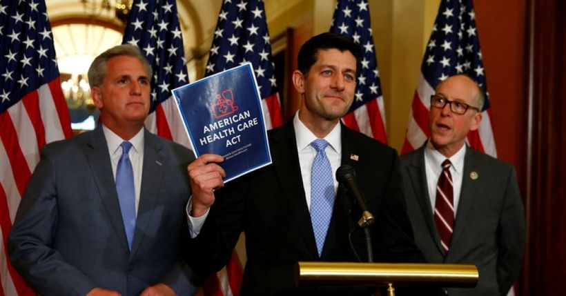 "Paul Ryan Revealing ""American Health Care Act"""
