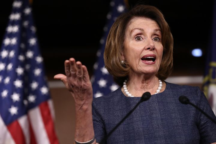 House Minority Leader Nancy Pelosi (D-Calif.) has her eye on dozens of now-GOP congressional seats that could be vulnerable i