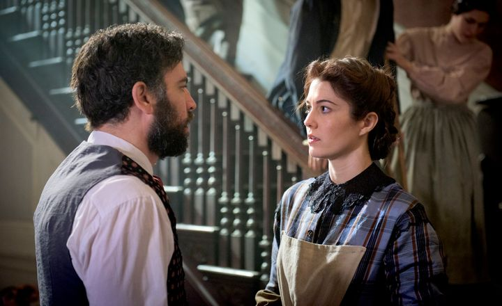 Dr. Jed Foster meets Nurse Mary Phinney.