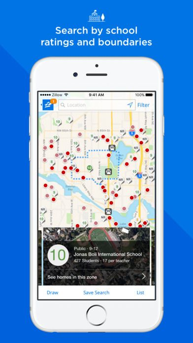 Apps such as Zillow's are using technology to deliver search features that were difficult in the past - such as searching for