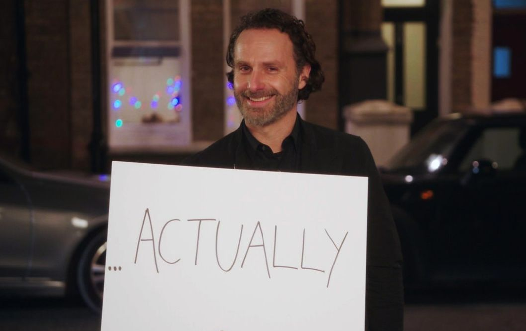 'Love Actually 2' Teaser Clip Sees Andrew Lincoln And His Infamous Placards