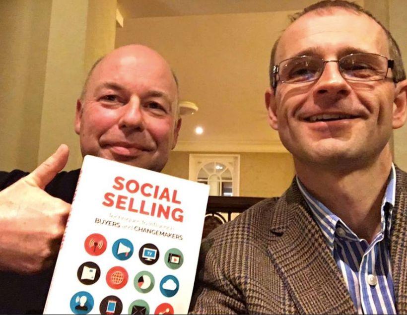 Tim's book - Social Selling