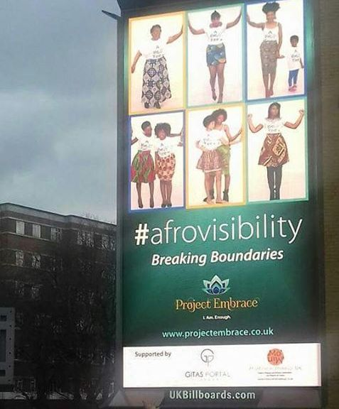 Londoner Launches Inspiring Natural Hair Billboard Campaign To Change Perceptions Of