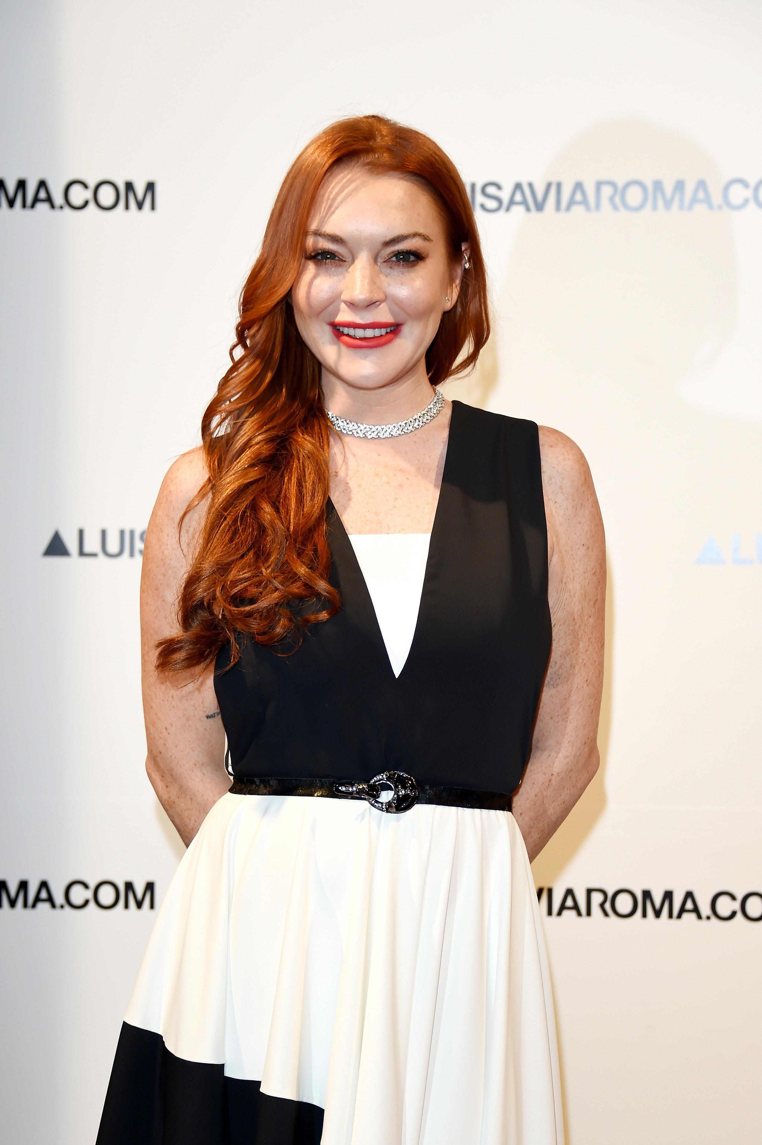 Lindsay Lohan Announces New Role As Fashion