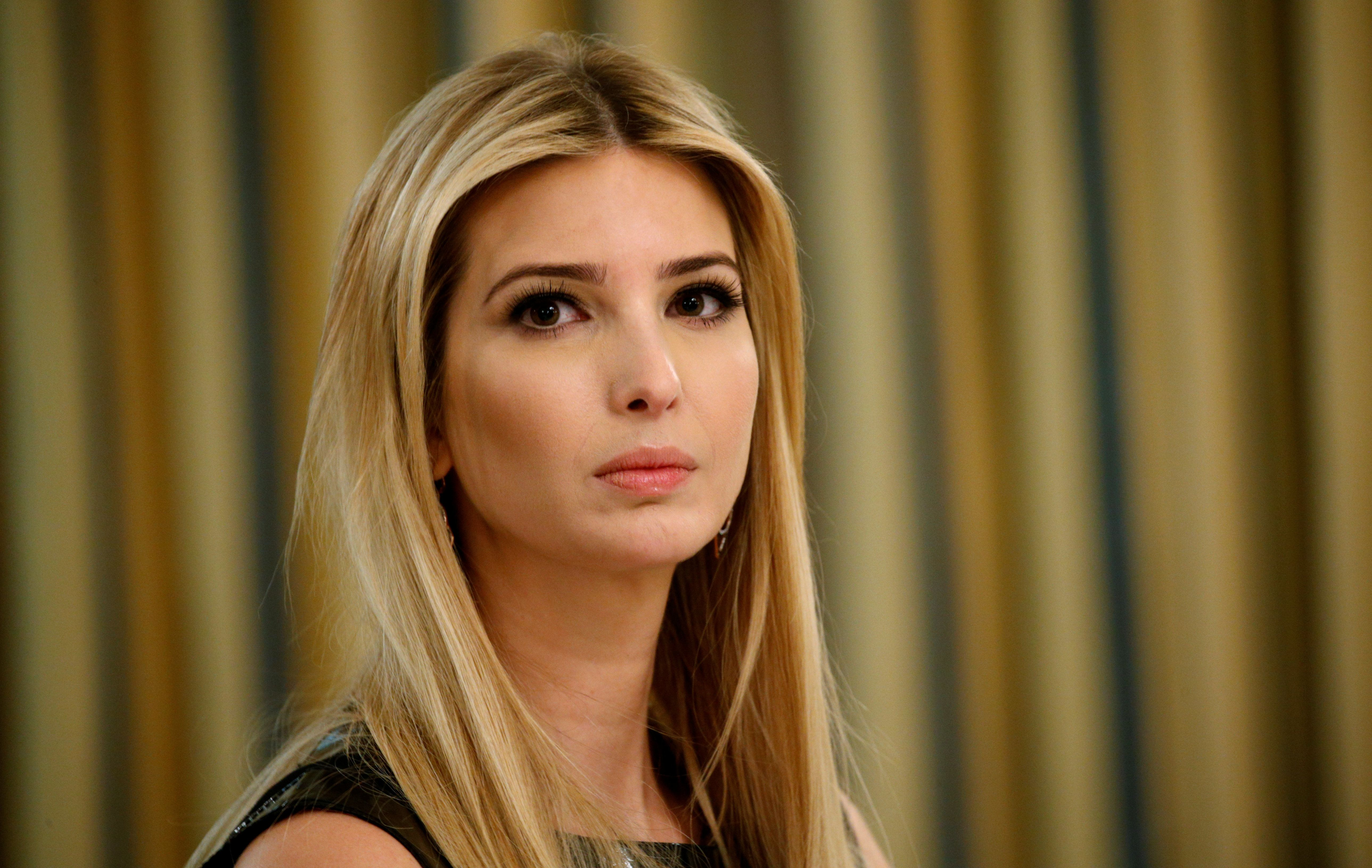 Ivanka Trump at the White House on Feb. 3.