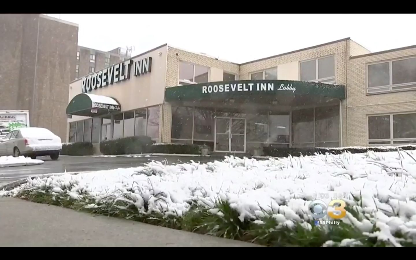 The Roosevelt Inn in northern Philadelphia is accused of knowingly allowing child sex traffickers to rent out its rooms to ab