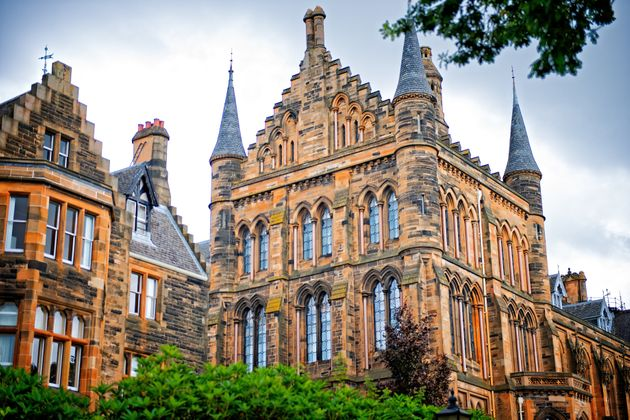 The rector at the University of Glasgow represents the entire student
