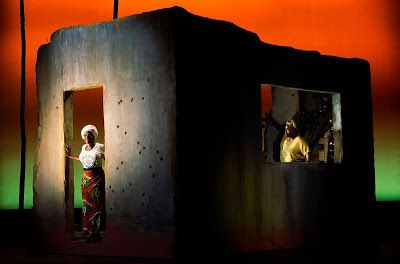 Akosua Busia in a scene from <strong><em>Eclipsed</em></strong>