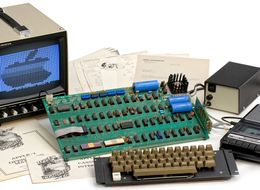 'Finest Example' Of Apple's First Computer Set To Be Auctioned For £260,000