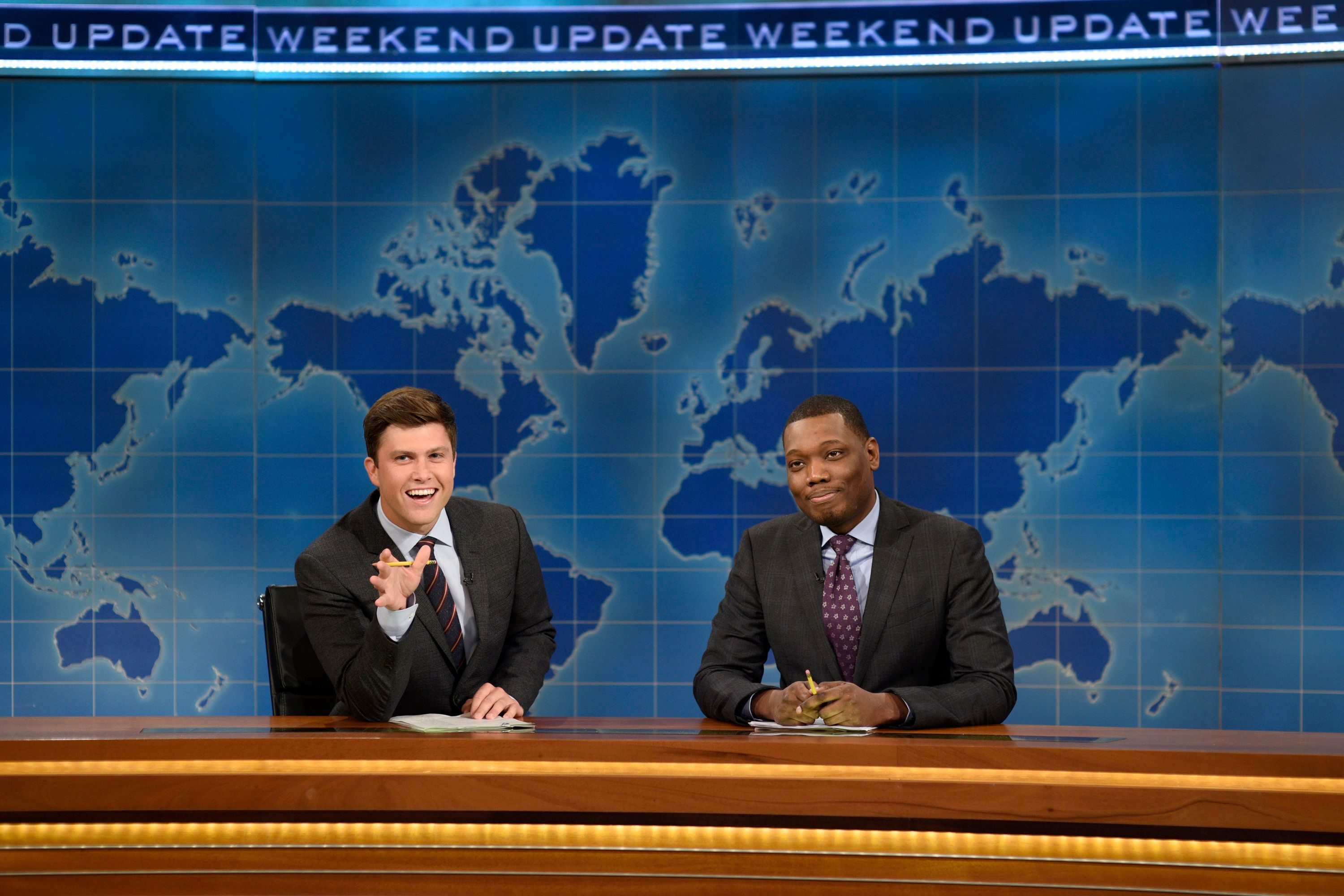 Colin Jost and Michael Che are coming to primetime.