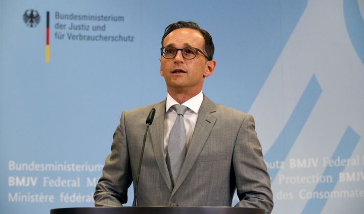 German Justice Minister Heiko Maas is proposing a law that would fine social media sites up to $53 million if they fail