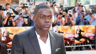 LONDON, ENGLAND - OCTOBER 02:  (EMBARGOED FOR PUBLICATION IN UK TABLOID NEWSPAPERS UNTIL 48 HOURS AFTER CREATE DATE AND TIME. MANDATORY CREDIT PHOTO BY DAVE M. BENETT/GETTY IMAGES REQUIRED)  Actor Daniel Kaluuya arrives at the UK Premiere of 'Johnny English Reborn' at Empire Leicester Square on October 2, 2011 in London, England.  (Photo by Dave M. Benett/Getty Images)