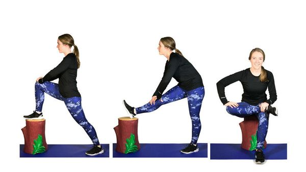 <strong><i>What it does:</i> </strong>Focuses on tightness in your hip flexors, your hamstrings and your glutes, which all ge