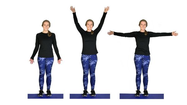 <strong><i>What it does:</i> </strong>This works on strength and flexibility in your shoulder muscles. <br><br><strong><i>How