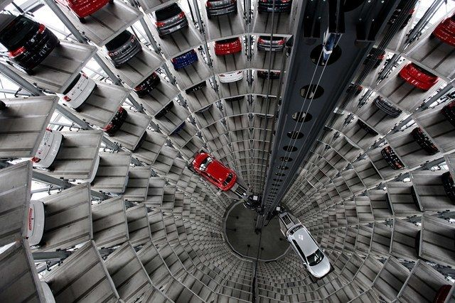 9 parking garage designs that are works of art huffpost for Garage volkswagen lyon