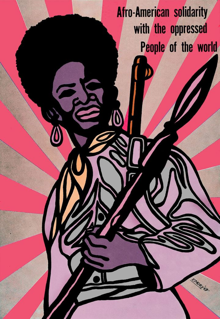<em>Afro-American Solidarity with the oppressed People of the World</em>, 1969, by Minister of Culture for the Black Panther