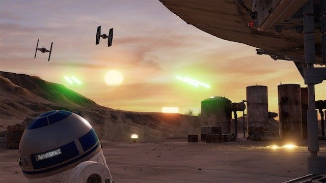 <em>Like The Void's Ghostbusters Hyper Reality experience in New York, &quot;Star Wars: Trials on Tatooine&quot; (released in