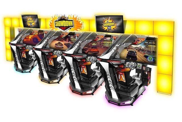 <em>New mulitplayer arcade game Sega Showdown Deluxe. </em>