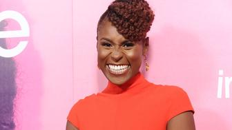 LOS ANGELES, CA - OCTOBER 06:  Actress Issa Rae attends the premiere of 'Insecure' at Nate Holden Performing Arts Center on October 6, 2016 in Los Angeles, California.  (Photo by Jason LaVeris/FilmMagic)