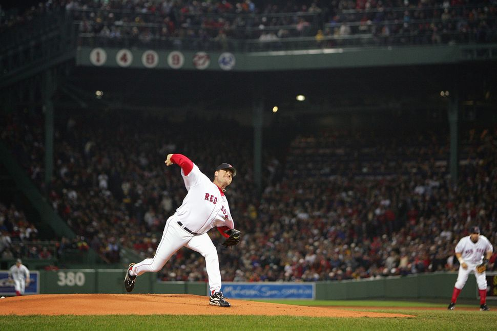 Schilling became a legend in Boston during the 2004 postseason, when he helped the Red Sox win their first World Series title