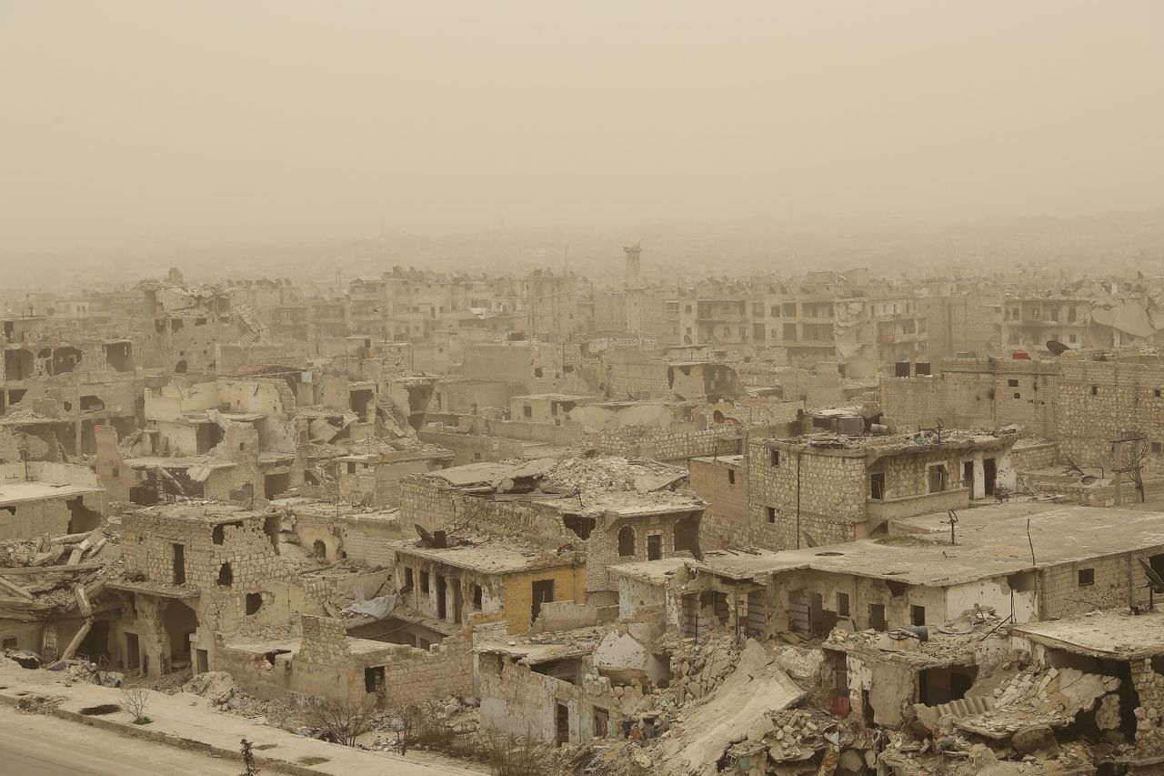 I haven't been able to go home to Aleppo in my last few trips to Syria. Here's what it looks like six years after the revolution.