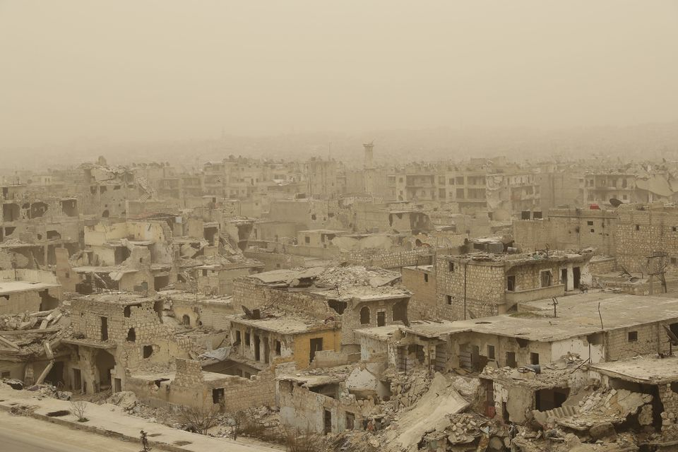 I haven't been able to go home to Aleppo in my last few trips to Syria. Here's what it looks like six...