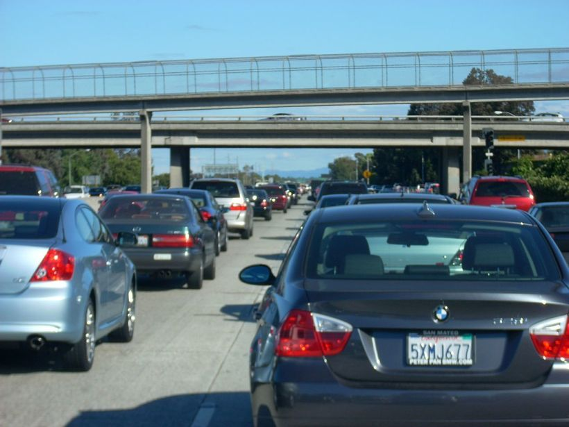 Traffic in Silicon Valley