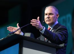 As Scott Pruitt Denies Climate Science, Atmospheric CO2 Rises At A Record Rate