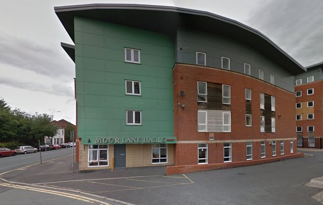 The attack took place in Sanctuary Halls on Moor Lane in