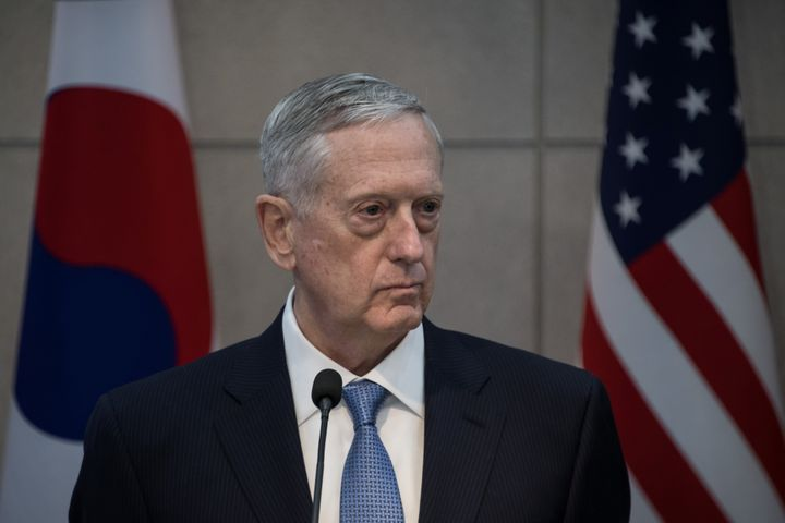 Secretary of Defense James Mattis says climate change is real and a huge threat to America's safety.