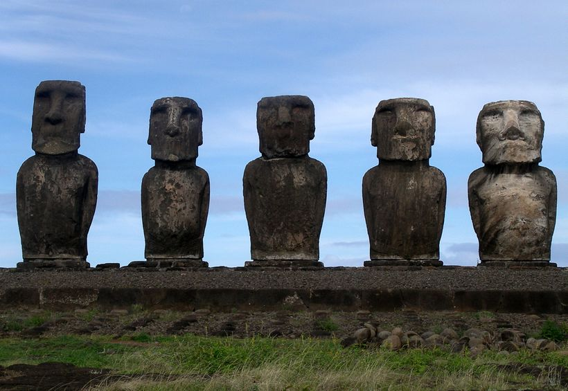 One of the remotest places on the planet, Easter Island