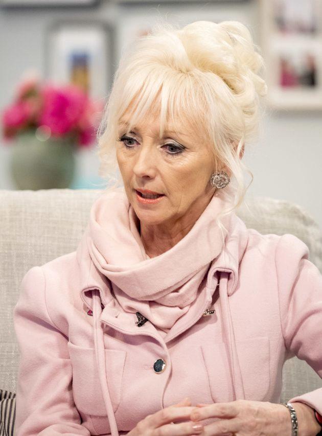 Debbie McGee made an appearance on